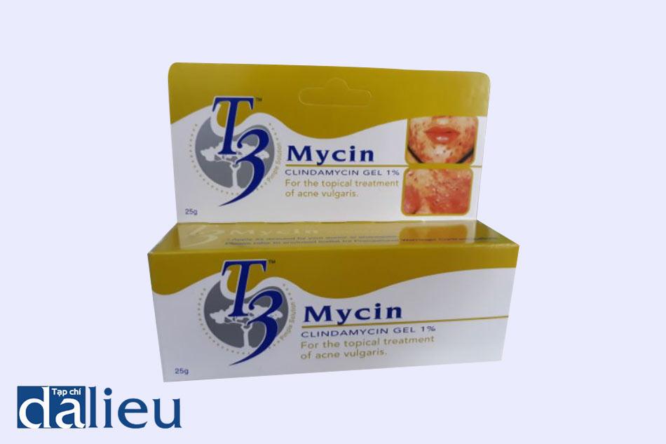T3 Myc chứa thành phần Clindamycin