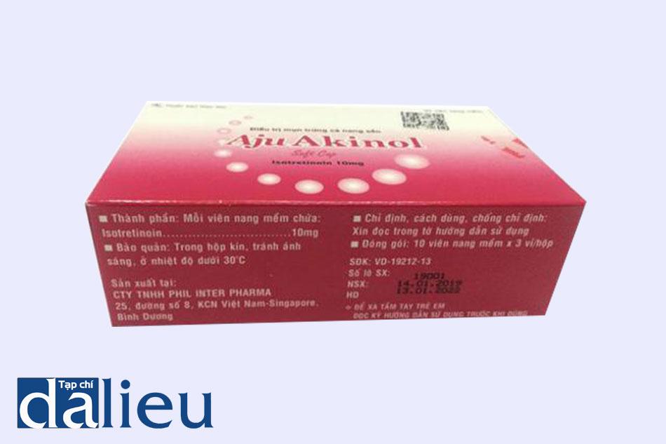 Thuốc Aju Akinol được chỉ định sử dụng trong trường hợp bệnh nhân bị mụn trứng cá nghiêm trọng mà không thể cải thiện bằng các liệu pháp thông thường khác