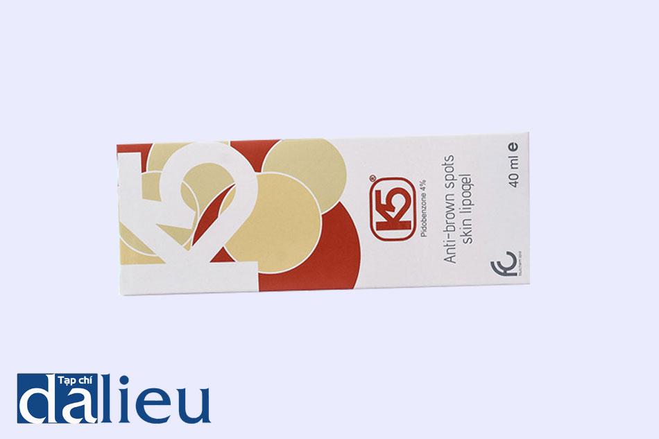 Gel trị nám K5 Lipogel được chỉ định sử dụng cho đối tượng có các khuyết điểm trên da