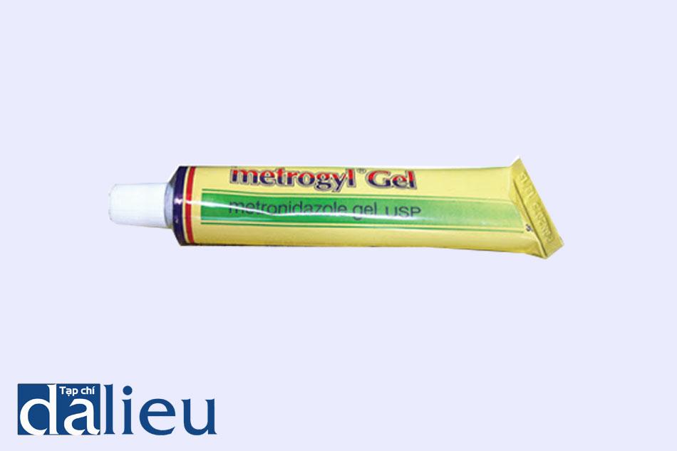 Thuốc Metrogyl gel được bào chế dạng gel bôi ngoài da