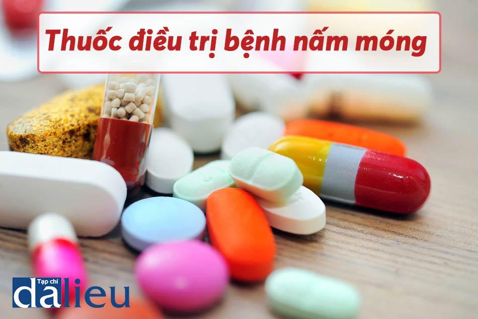 Sử dụng thuốc kháng nấm đường uống