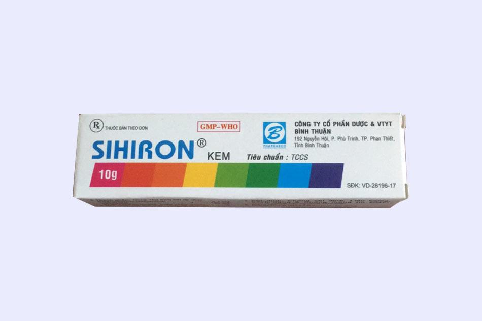 Thuốc 7 màu Silkron điều trị bệnh lý viêm da