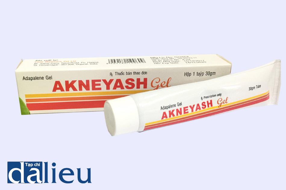 Hình ảnh thuốc Akneyash Gel