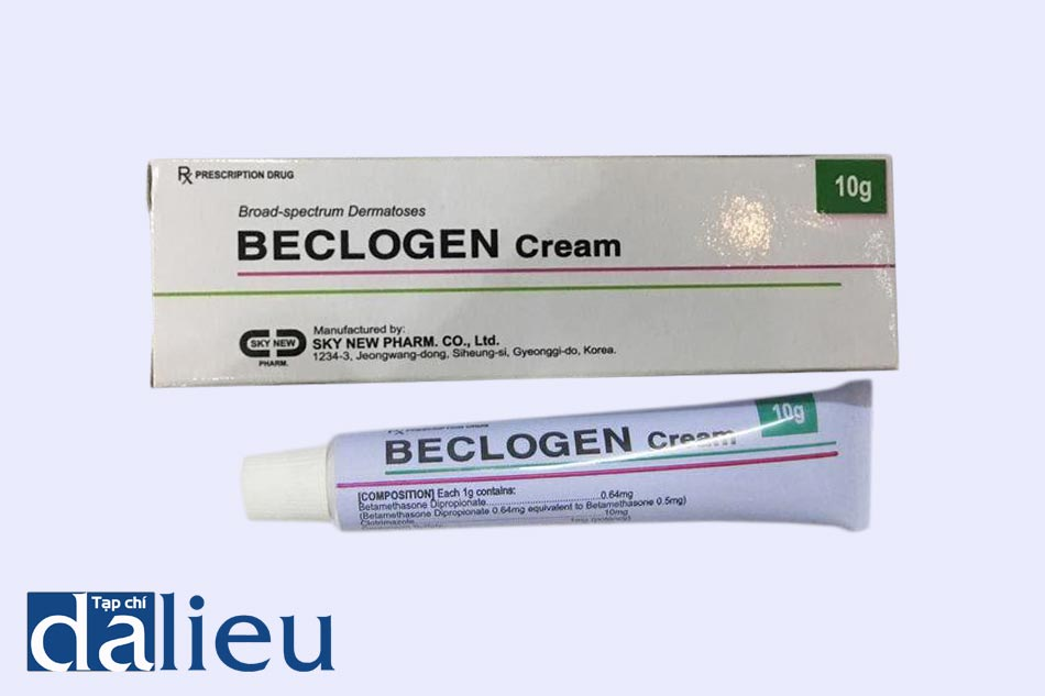 Hình ảnh thuốc Beclogen Cream