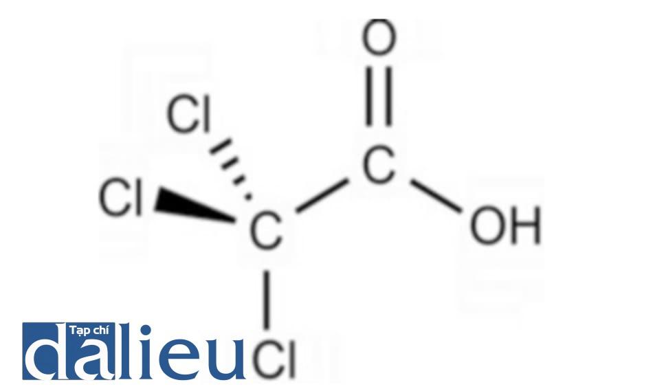 Hình 1: cấu trúc phân tử của TCA