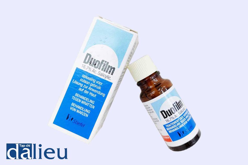 Thuốc Duofilm sử dụng để điều trị mụn cóc