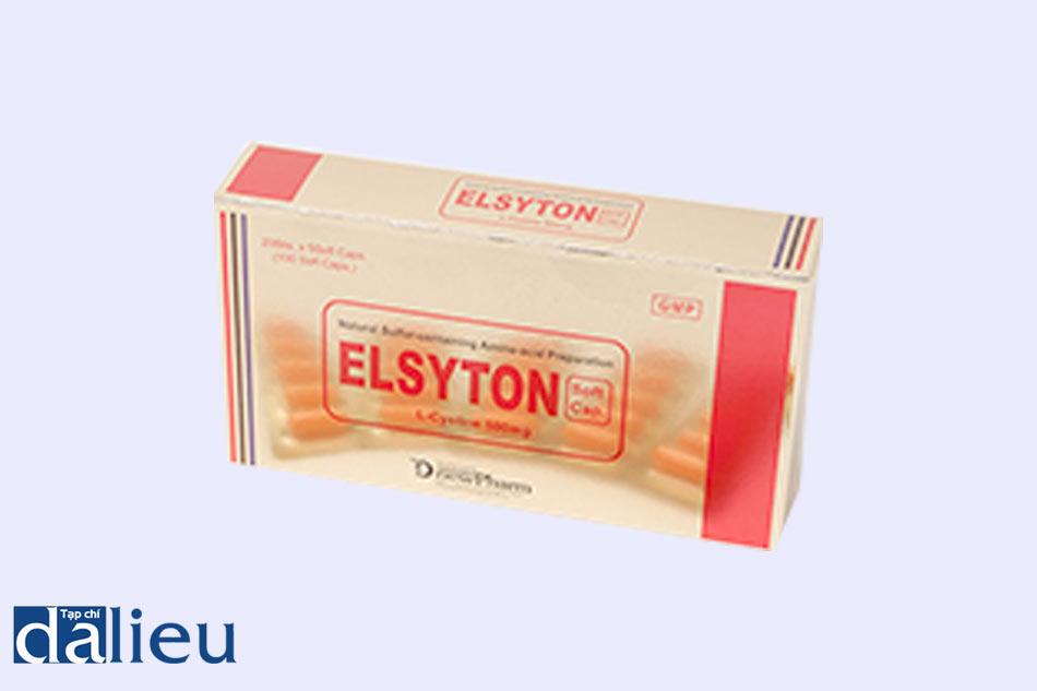 Thuốc Elsyton - điều trị mụn trứng cá