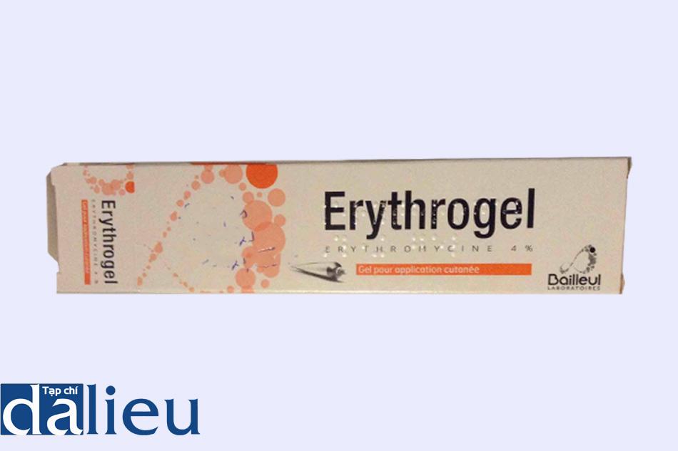 Hình ảnh hộp thuốc ERYTHROGEL