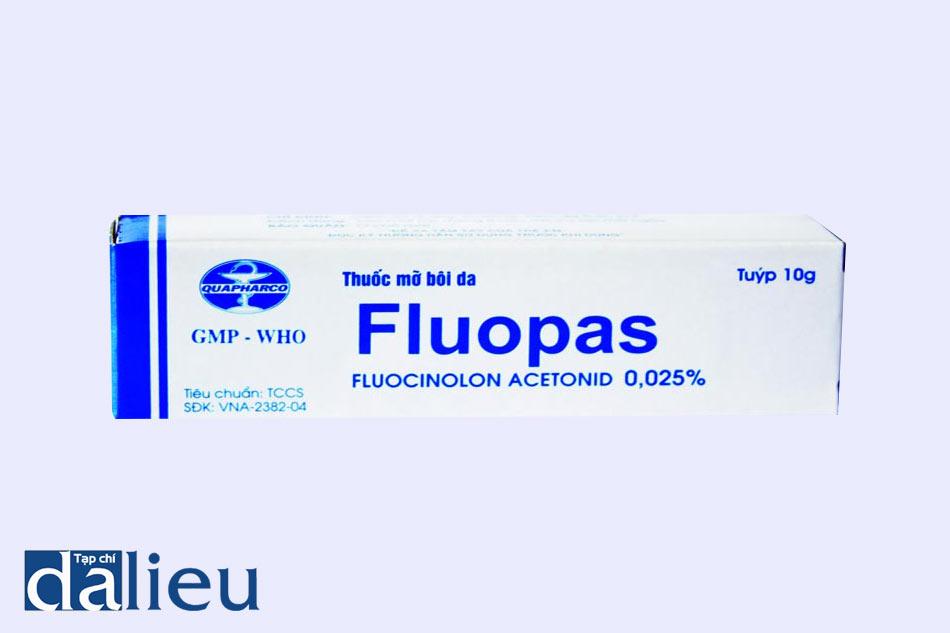 Hình ảnh hộp thuốc Fluopas