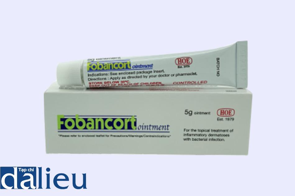Hình ảnh thuốc Fobancort Ointment