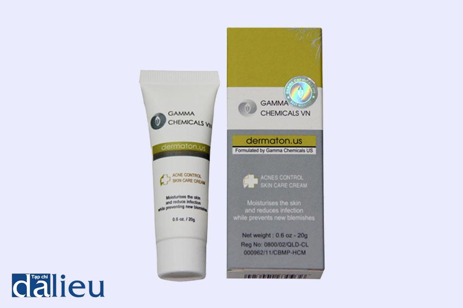 Tem chống giả của thuốc trị mụn Gamma Chemicals Pte