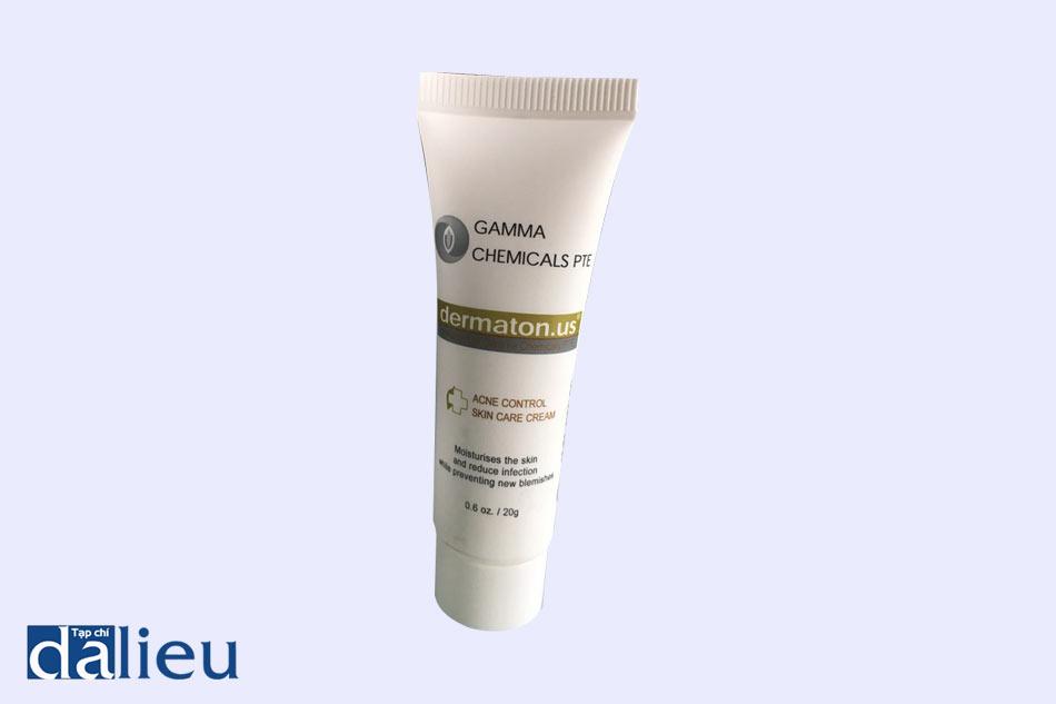 Hình ảnh tuýp kem trị mụn Gamma Chemicals Pte