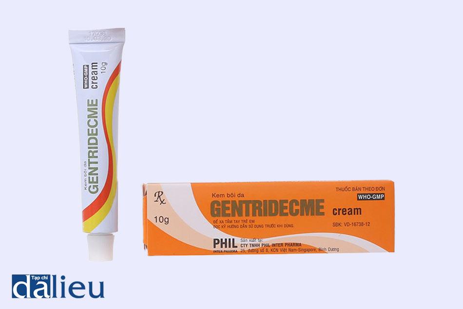Thuốc Gentridecme điều trị các bệnh lý ngoài da