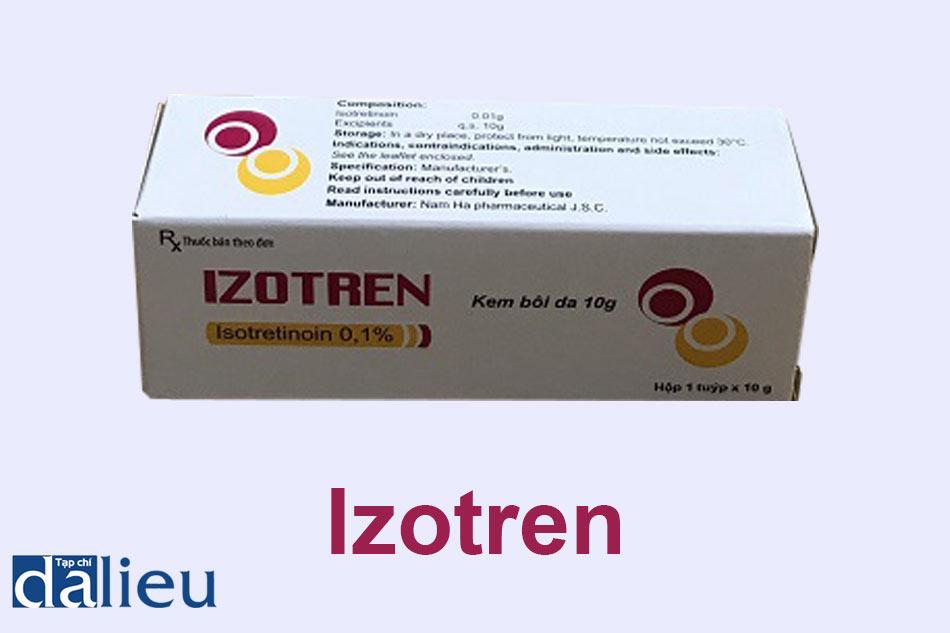 Thuốc Izotren