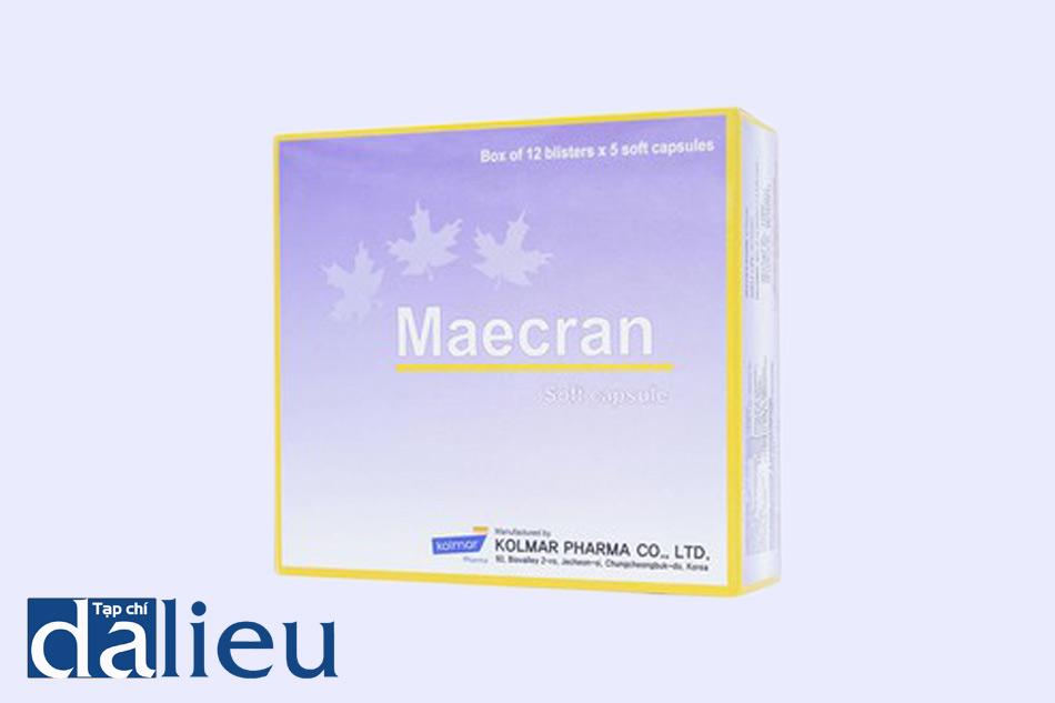 Hình ảnh hộp thuốc Maecran