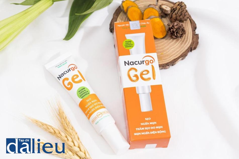 Kem trị sẹo rỗ thiên nhiên Nacurgo Gel