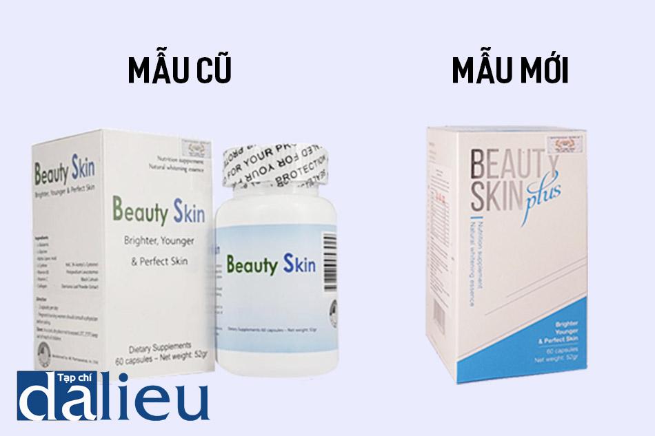 Beauty Skin mẫu cũ và Beauty Skin Plus mẫu mới