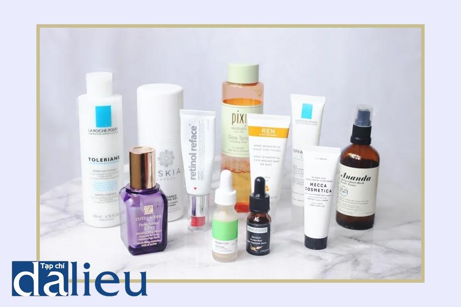 Một số sản phẩm chăm sóc da an toàn khi mang thai