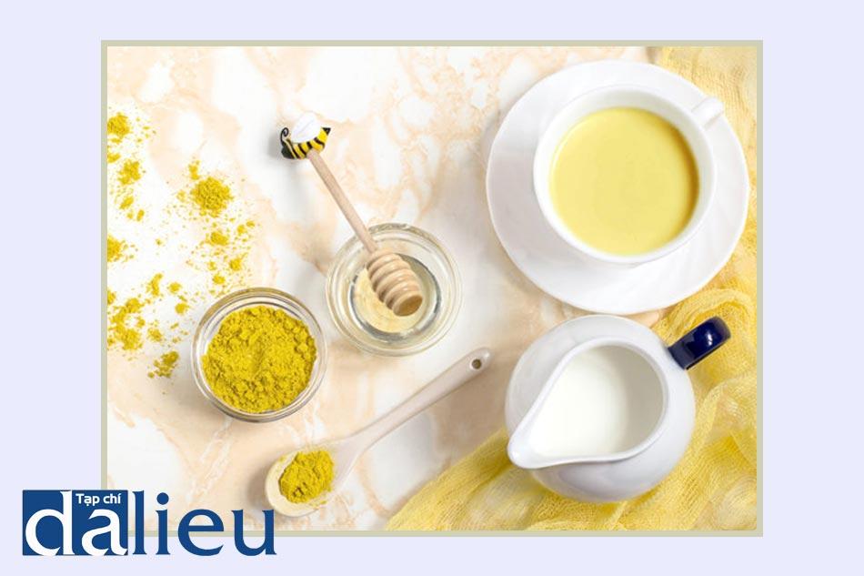 Mặt nạ tinh bột nghệ, sữa chua và mật ong dành cho mẹ bầu
