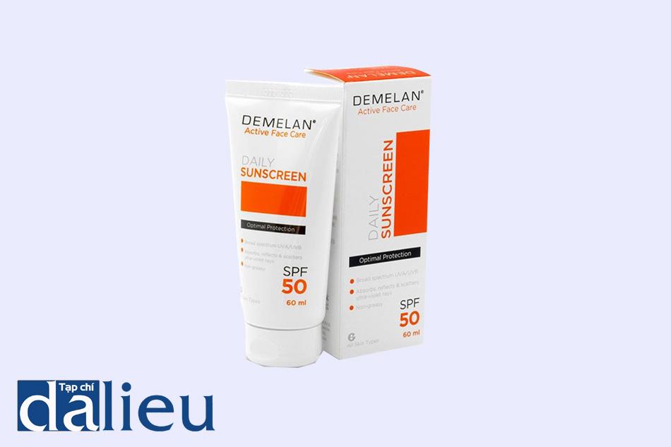 Hình ảnh sản phẩm kem dưỡng trắng da Demelan