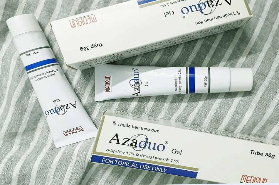 Hình ảnh sản phẩm Gel trị mụn Azaduo