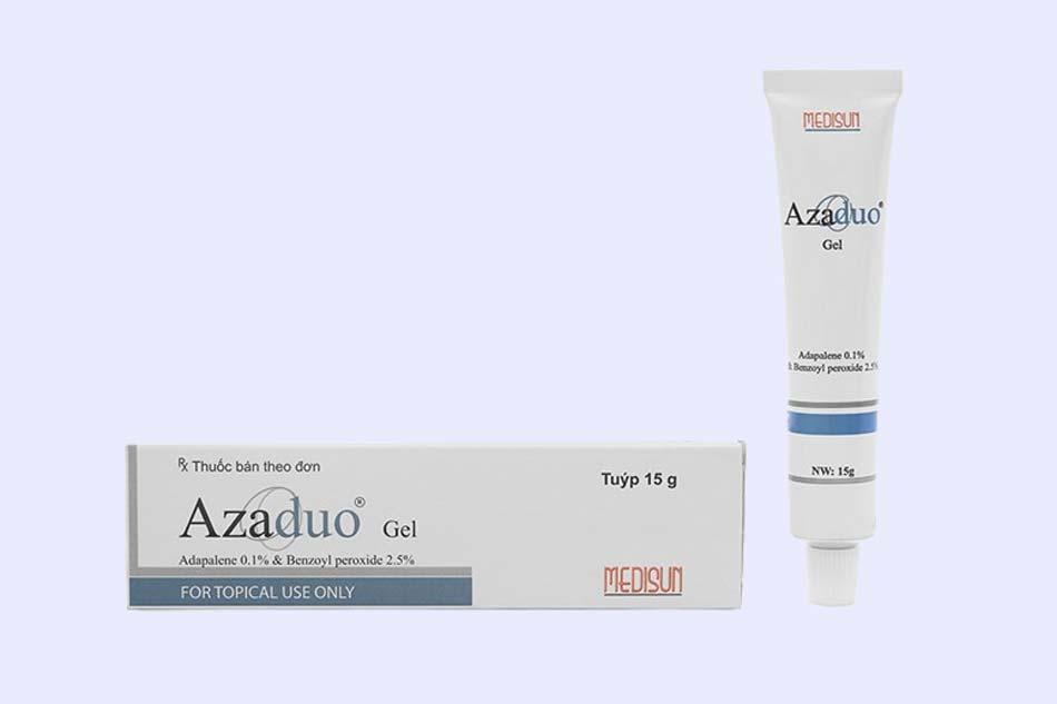 Gel trị mụn Azaduo có giá bao nhiêu?