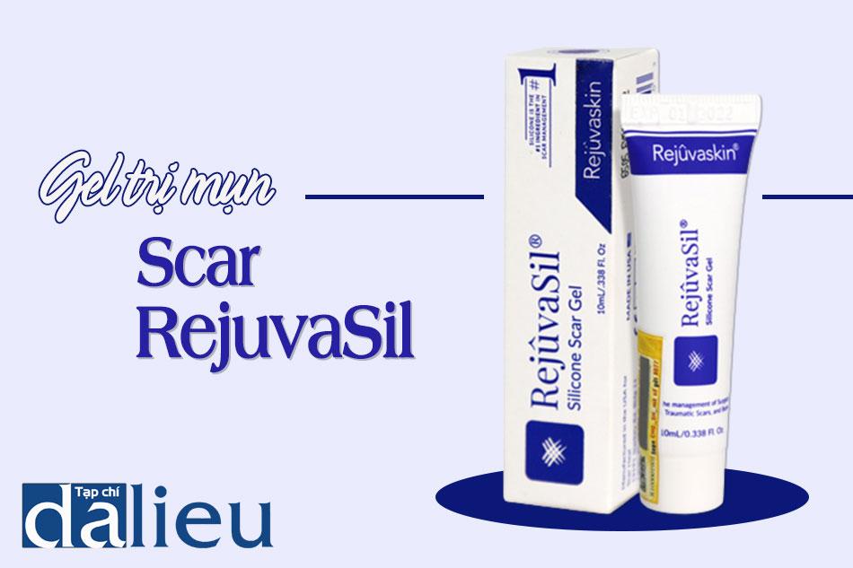 Hình ảnh Gel trị sẹo Scar RejuvaSil