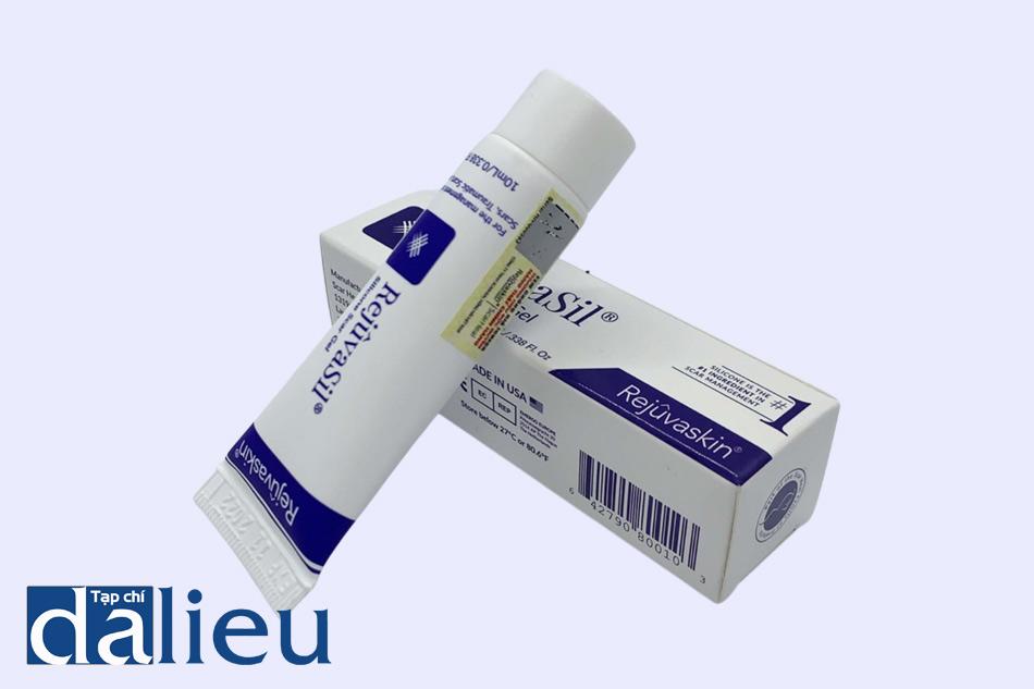 Dạng đóng gói của gel trị mụn Scar RejuvaSil