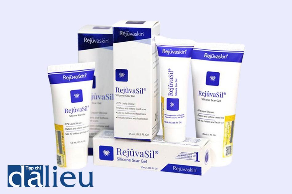 Các dạng đóng gói khác nhau của gel trị mụn Scar RejuvaSil